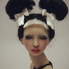 Кейси. Авторская шарнирная кукла Юлии Нечаевой 32 см, полиуретан