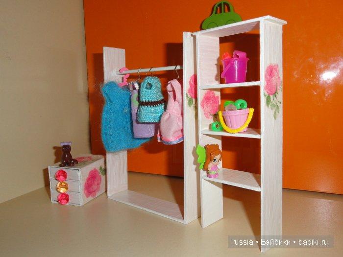 Картинки с поделками из коробок для кукол