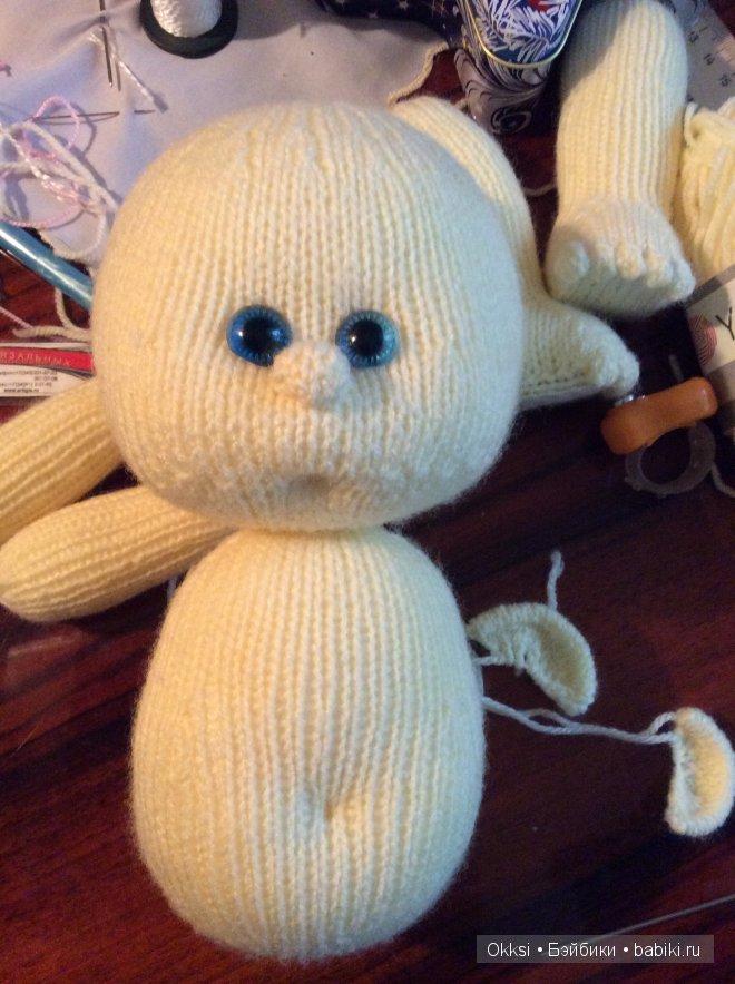 рождение пупса от марины Golden вязанные куклы крючком и на