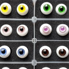 Продам 18 не повторяющихся пар глаз 10 мм
