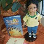 Временно! Редкая фирменная полностью виниловая куколка от miniAdora Кармен, 20 см.