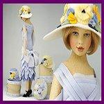 Валянные куклы из шерсти Мэгги Яконо, Maggie Iacono dolls