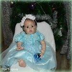 Наша Новогодняя сессия. Кукла реборн Камилла из молда Шанель