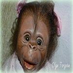 Весенняя фотосессия моей обезьянки реборн