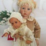 Редкая парочка Joy (Джой) и Pia (Пиа) от Hildegard Gunzel фирмы Gotz.