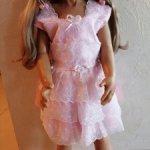 Аутфит от куклы Monika Levenig. Нарядное платье.