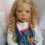 Маленькая норвежская девочка Üllwa (Ульва) от Annette Himstedt.
