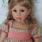 Нежная девочка Rosemarie (Розмари) от Monika Levenig.