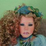 Красивейшая интерьерная кукла русалка Aqua от Shirley. Едет!