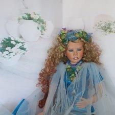 Красивейшая интерьерная кукла русалка Aqua от Shirley. Цена снижена!!!