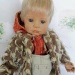 Малыш Тил (Til) от Bettine Klemm и фирмы Zapf Creation. Состояние новой куклы. Редкий! Цена снижена!