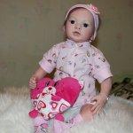 Малышка Джулия из лимитного молда Джульета от Натали Блик. Кукла реборн от Алёны Абахтимовой