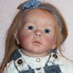 Кукла реборн Стефания, молд Wilma