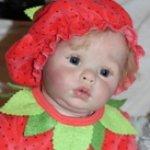 Кукла реборн Тося, молд Chanel