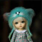 Шапка для кукол с размером головы 5-6