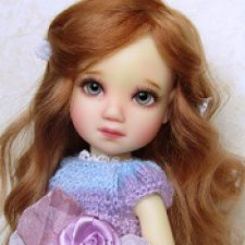 Долгожданная встреча. Моя куколка Мия от Лиз Фрост /Mia doll Liz Frost
