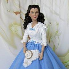 Наряд handmade Скарлетт О'Хара «Вечер за вышивкой» из фильма «Унесенные ветром»