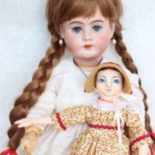 Кукла для дочки или Лёля большая и Лёля маленькая. 1 часть истории