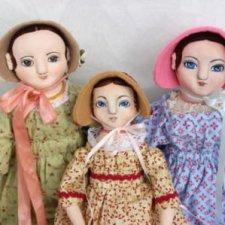 Куколки для подружек Лёли. 2 часть истории