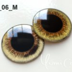 СТЕКЛЯННЫЕ глаза(чипы) дляБлайз максимальный зрачек,или других кукол.14 мм