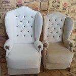 Кресло для кукол размером до 32 см.