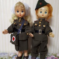 Военная форма для кукол 45-50 см.