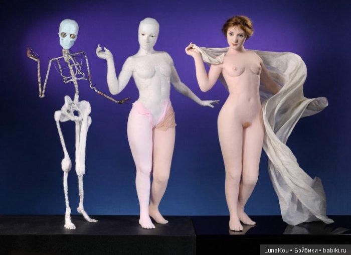Lisa Lichtenfels каркасные текстильные куклы