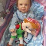 Мой первый топик о кукле реборн Юра