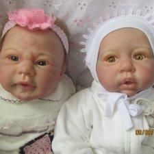 Мои двойняшки реборняшки