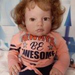 Кукла реборн Танюшка