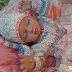 Кукла реборн Агрипина