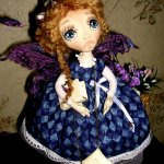 Мои первые текстильные куколки