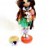 Авторские куколки из ткани Шкарбановой Анны
