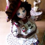 Авторские текстильные куколки Шкарбановой Анны