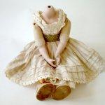 Тело для большой фарфоровой куклы
