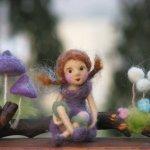 Чудеснейшие работы, валянные куклы Зузаны Хочман, Zuzana Hochman