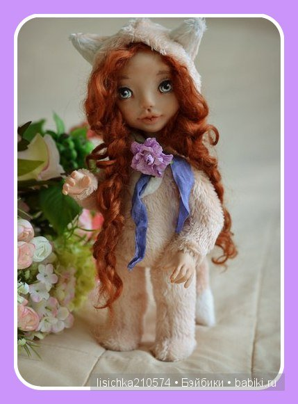 Авторские куклы Евгении Грибановой