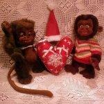 """""""Ко-Ко и Ми-Ми, подружки Мананны"""" обезьянки от Федоровой Надежды, игрушки ручной работы"""