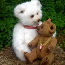 Как рождается медведь. Не медведь, а просто мишка. Мишка Милочка-Малышка