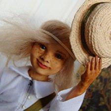 Авторская кукла Том Сойер, процесс создания, часть 1