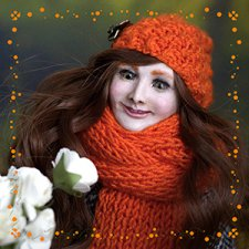 Лисонька, авторская кукла