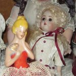 Знакомство с коллекцией. Продолжим: реплики антикварных кукол