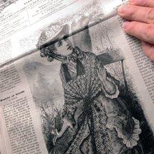 "Старинные журналы ""La Mode illustree"""