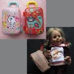 Чемоданы и рюкзак для кукол