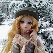 Первый снег. Прогулка Гвен