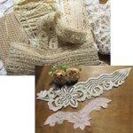 Старинное кружево, тесьма и декоративные элементы