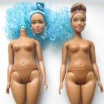 Барби: гибрид, голова, тело