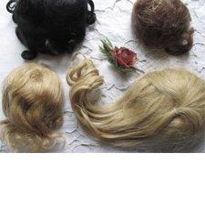 Парики для антикварных кукол. Продажа и в дар.