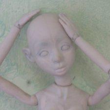 Мастер-модель в процессе. Шарнирные Куклы Юлии Соколовой