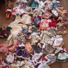 Платья для кукол 30-35 см